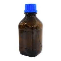Bouteille en verre fumé pour la conservation du bleu de méthylène