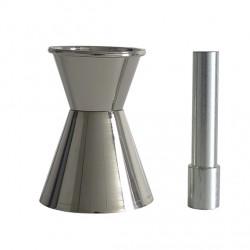 Cône et pilon d'absorption en acier galvanisé