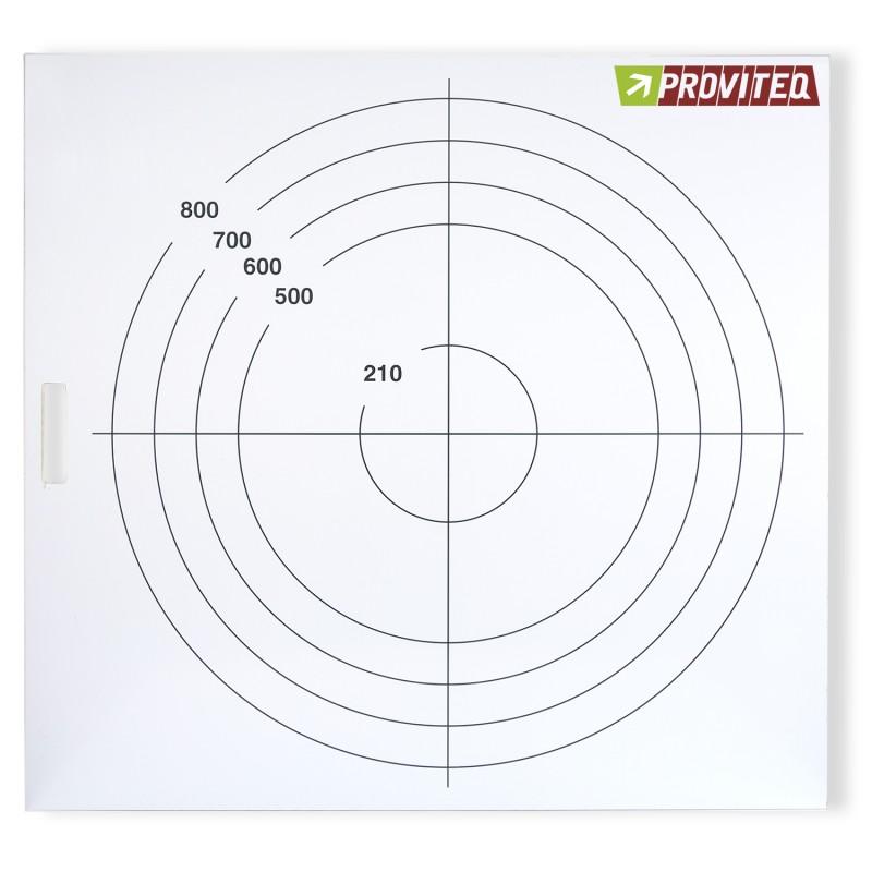 Plaque  en PVC pour l'essai d'étalement du BAP